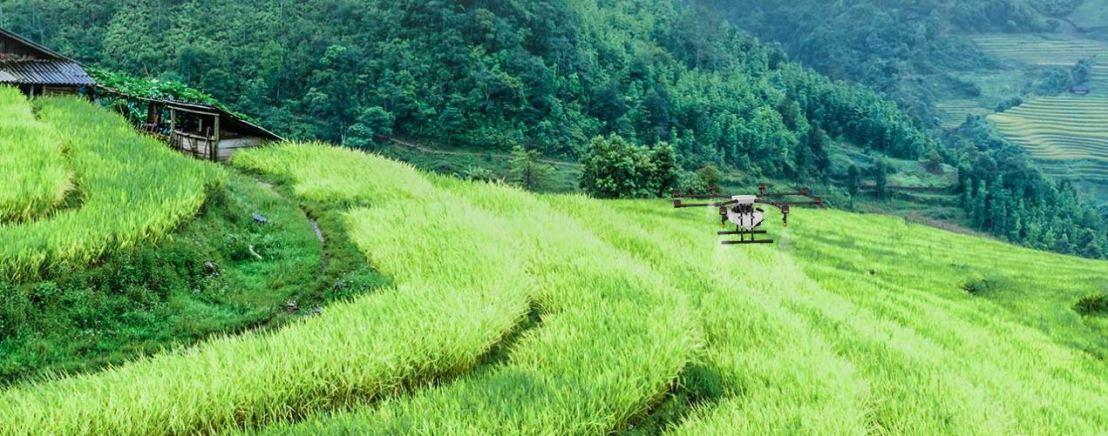 Radar and the DJI FarmingDrone
